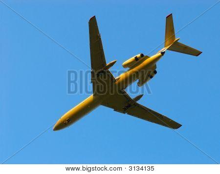 Takes Off Aero Plane On Sundown