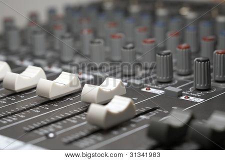 Detalhe de Mixer Studio