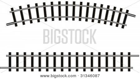 Model Railroad Tracks