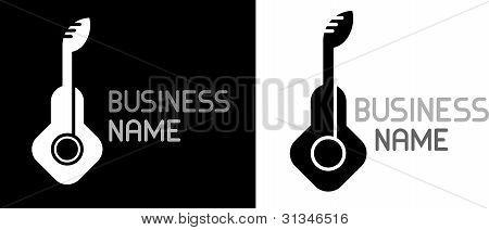 Guitar - Vector Icon