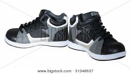 nuevos zapatos de los niños