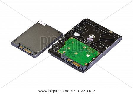 Solid State Drive (ssd) And Hard Disk Drive (hdd)