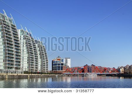 Modern Apartments, Salford Quays