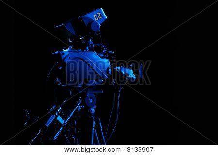 Studio Camera Blue