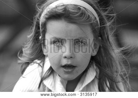 Young Girl - Haunting Eyes