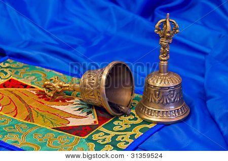 Two Tibetan Ritual Bells