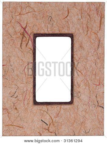 Handcraft Pressed Paper Frame