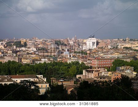 Rome, From A Height