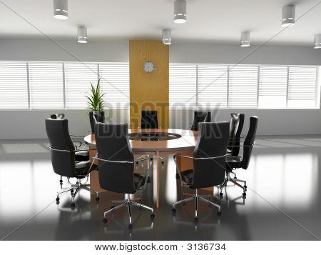 Leeren Sitzungssaal