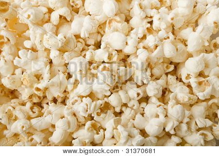 Puffs Of Good Buttered Popcorn