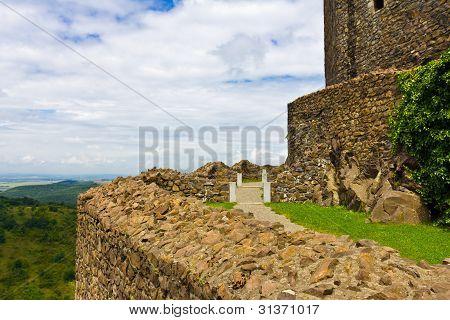 Inside Holloko Castle