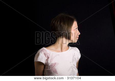 Brunette Profile