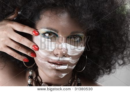 African Style Make-up