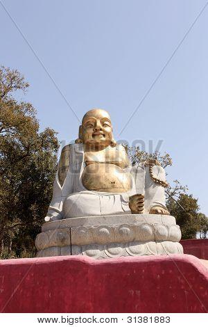 Smile Bronze Buddha