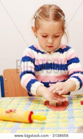 Cute Kid Playing