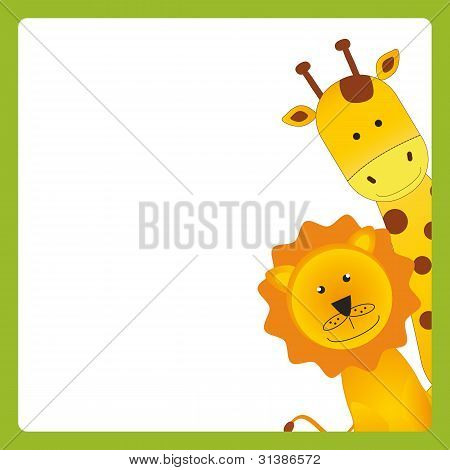 Card With Animal