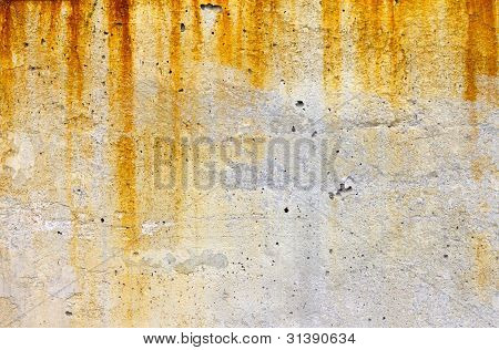 Rusty And Grungy Old Background Texture