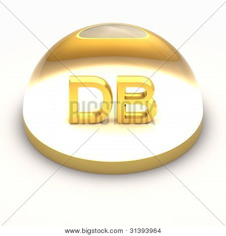 3D Style file format icon - DB