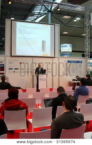 Hannover, Germany - March 10: The Presentation On March 10, 2012 In Cebit Computer Expo, Hannover, G