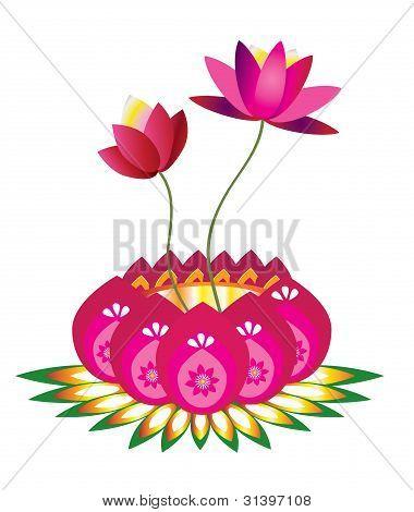 Patrón de Lotus