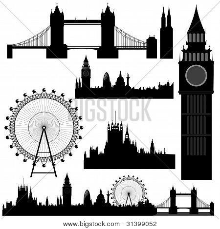 Vektor-London Sehenswürdigkeiten