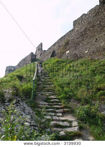 """Fort Ruins """"Cetatea De La Deva"""" Deva, Romania"""