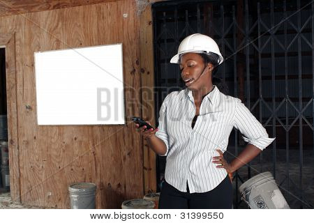 Lovely Female Construction Admin (2)