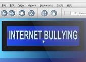 Internet Bullying. poster