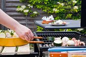 Bbq Cooking poster