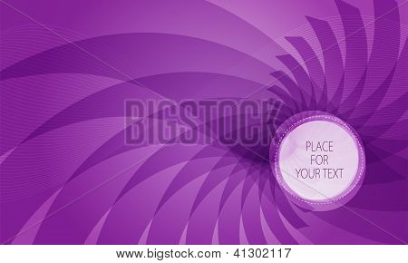 Abstract Violet Background With Place For Text