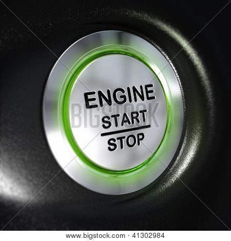 Engine Start And Stop Button, Automobile Starter