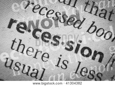 World Economical Recession, Glossary, Macro
