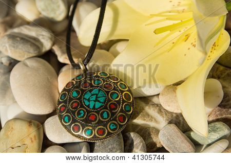 Handmade Pendant  From Nepal