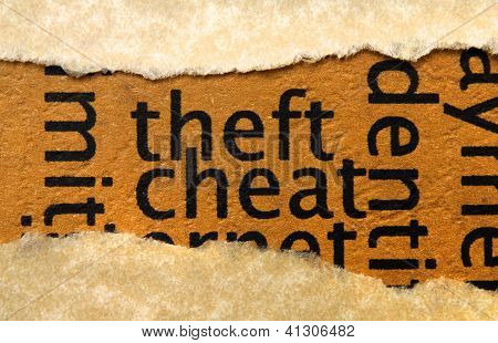 Theft And Cheat
