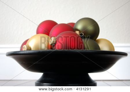Christmas Ornament Center Piece