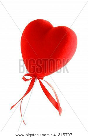 Red Heart And Tape