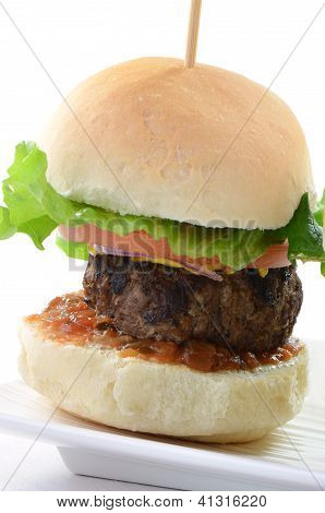 Hamburger Slider