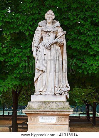Marie De Medicis. Reine De France.