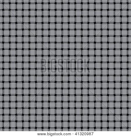 Zeilensprung grau Muster - Vektor nahtlose Hintergrund