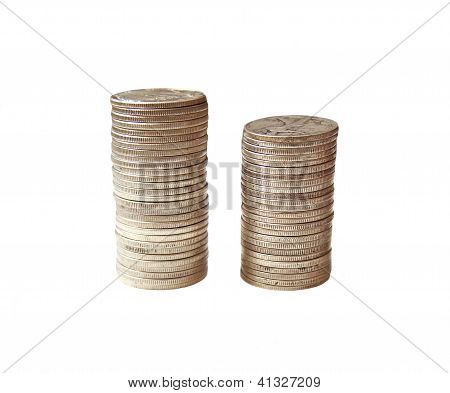 Pile of US Silver Coins