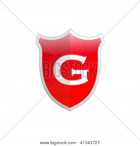 Secure Shield Letter G.