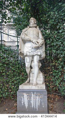 Statue Of Philips Of Marnix (circa XIX c.), Brussels, Belgium