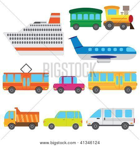 Cartoon Vehicles.