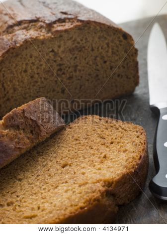 Sliced Loaf Of Parkin