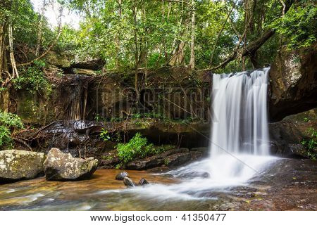 waterfall Kbal Spean