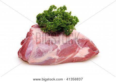 Raw Roast Wild Boar