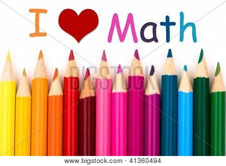 Eu amo matemática