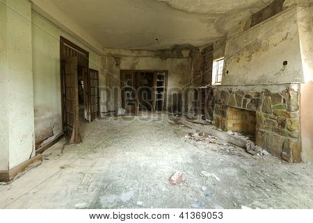 Room In An Abandoned Building