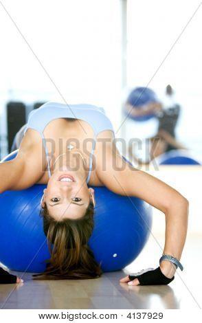 Woman Bending