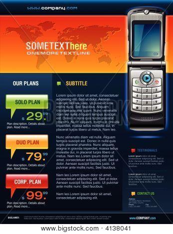 Folleto de Telecom